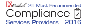 25 Most Recommended Compliance Services Providers 2016